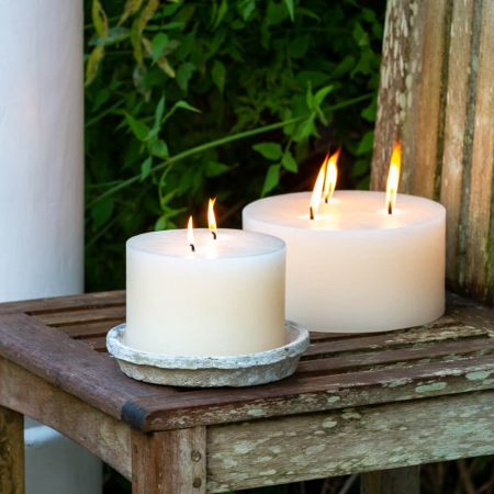 Outdoor Pillar Candles
