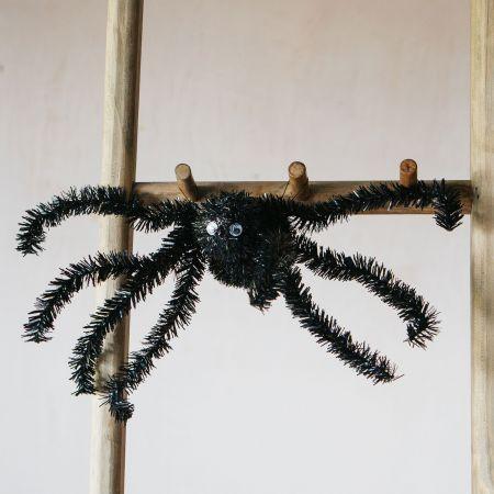 Black Tinsel Spider