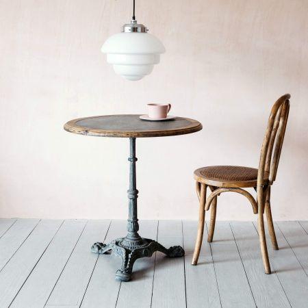 Ezra Round Café Table