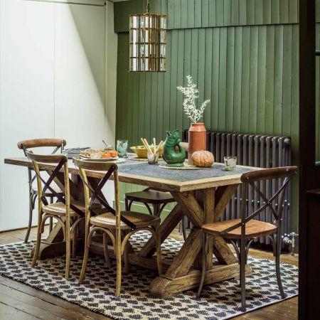 Ezra Elm Dining Table