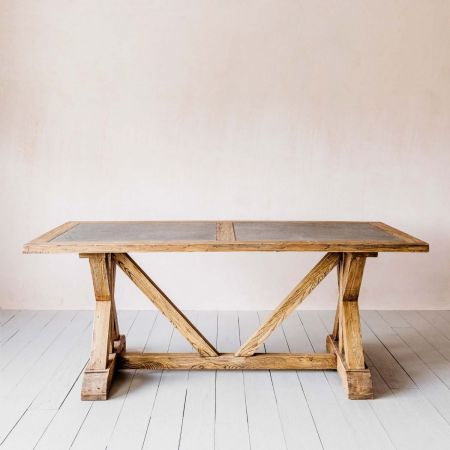 Ezra Elm Dining Table