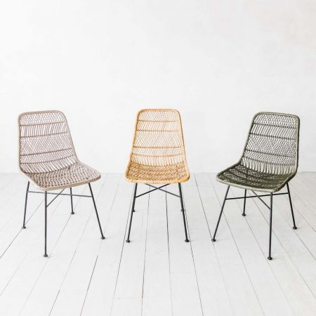 Oslo Natural Dining Chair