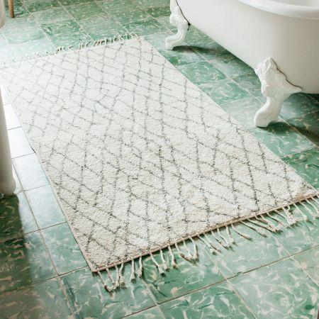 Diamond Bath Mats