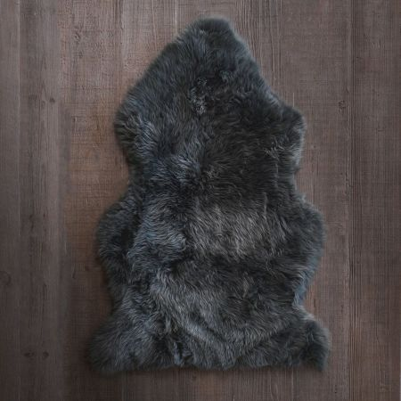 Charcoal Grey  Sheepskin