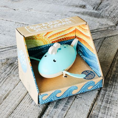 Silly Swimmers Whale Toy