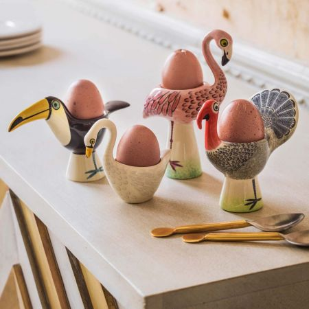 Fay Flamingo Egg Cup