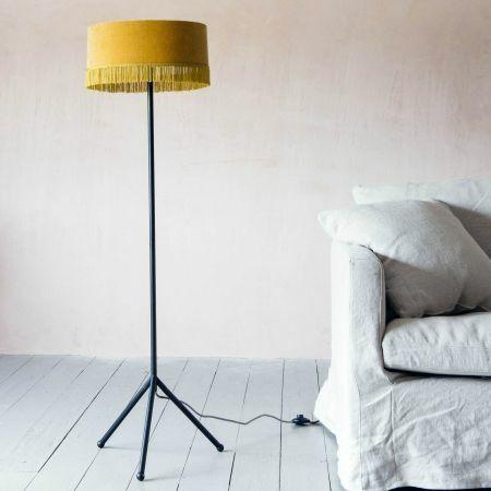Camille Yellow Floor Lamp