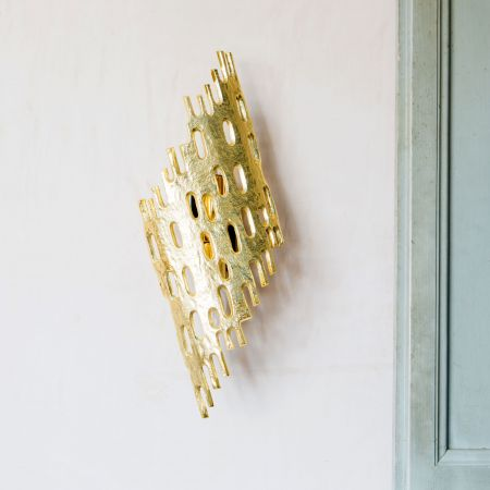 Nyssa Gold Wall Light