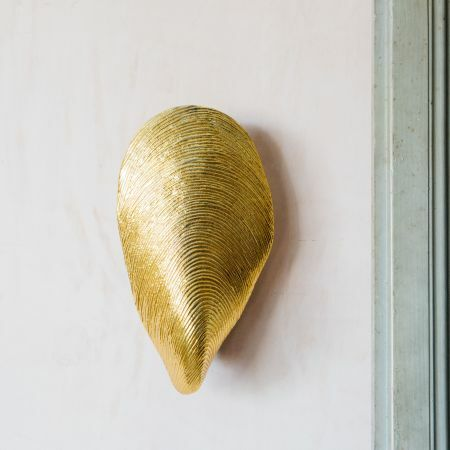 Mytilus Gold Wall Light