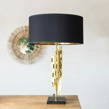 Nyssa Gold Table Lamp