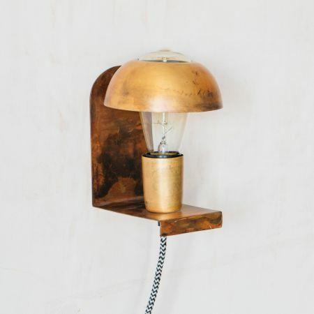 Mushroom Wall Light