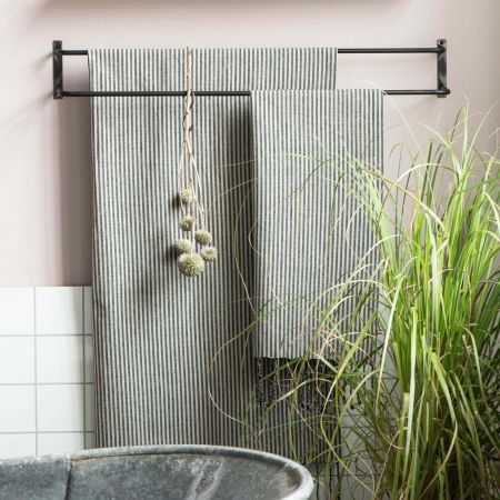 Selma Double Towel Rail