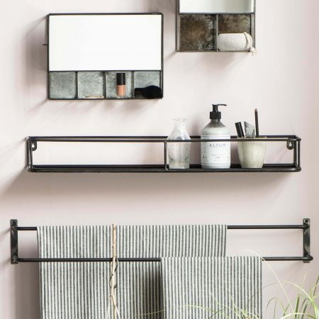 Selma Metal Wall Shelf