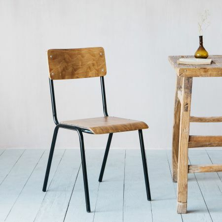 School Style Dining Chair