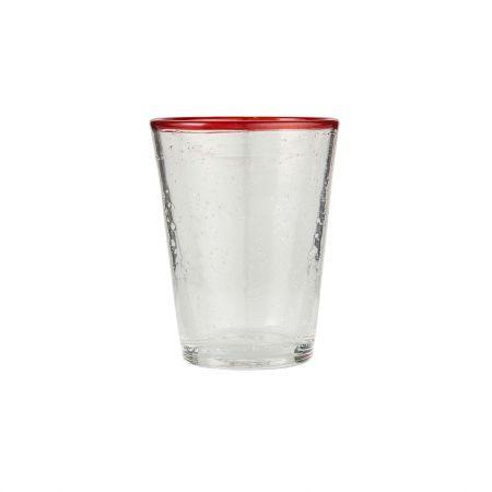 Red Rim Glass