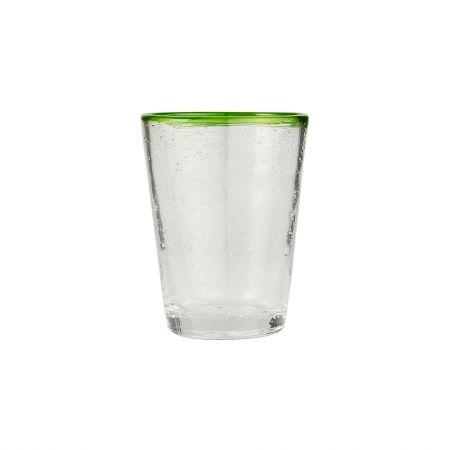 Green Rim Glass