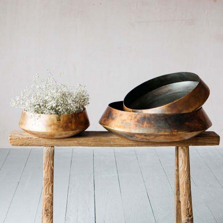 Dawson Blue Gold Bowls