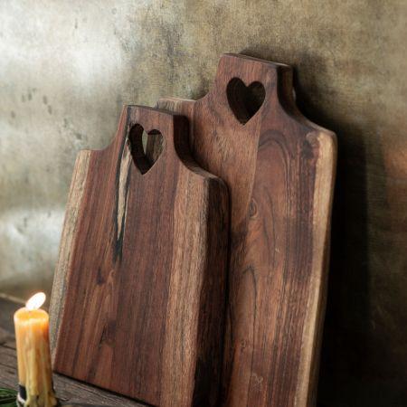 Heart Chopping Boards