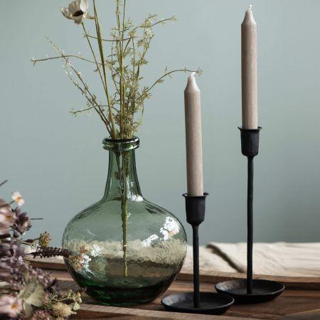 Black Iron Candlesticks
