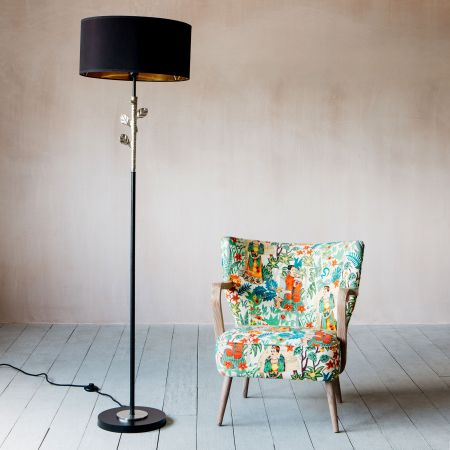 Tilia Silver Floor Lamp