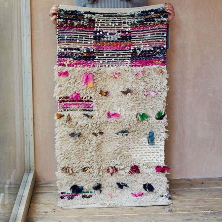 Isando Sequin Shaggy Rag Rug