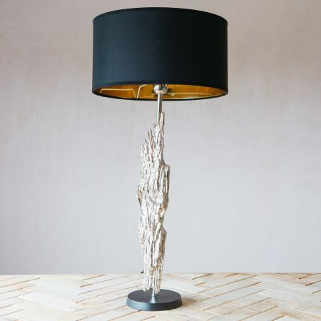 Kavali Silver Table Lamp