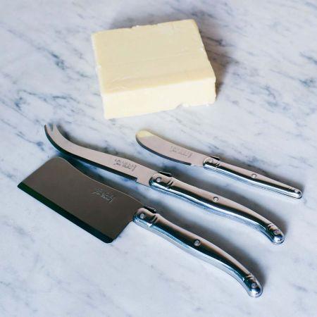 Laguiole Steel Cheese Set - Thumbnail
