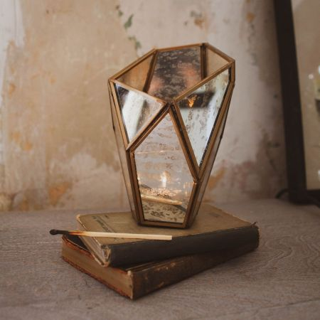Dufrene Faceted Tea Light Holder - Thumbnail