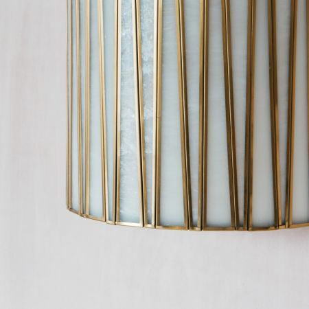 Corrine Frosted Glass Wall Sconce