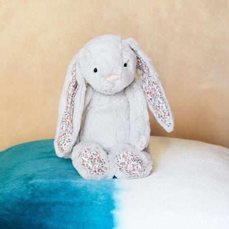 Medium Blossom Silver Bunny - Thumbnail