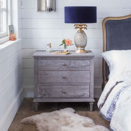 Darien Extra Large Bedside Table