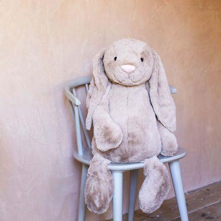 Large Bashful Beige Bunny - Thumbnail