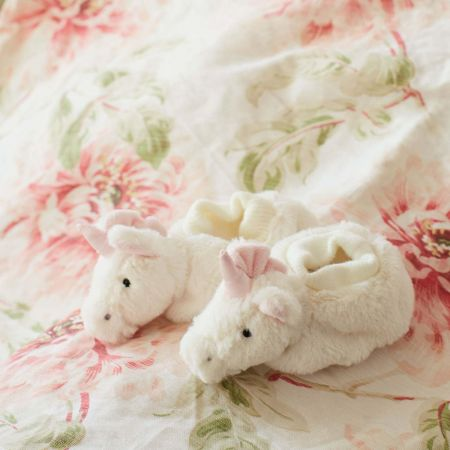 Bashful Unicorn Booties - Thumbnail