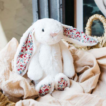 Cream Blossom Bunny