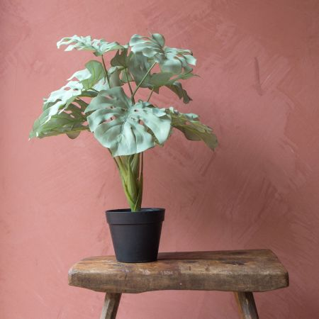 Medium Faux Monstera Plant