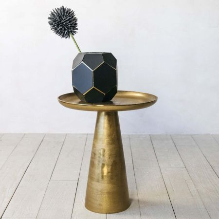 Plateau Brass Side Table