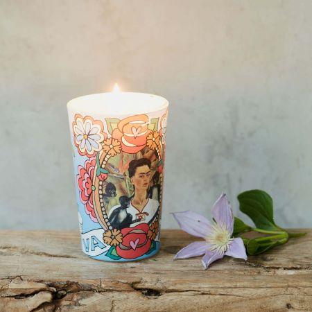 Frida Candle Viva la Vida - Thumbnail