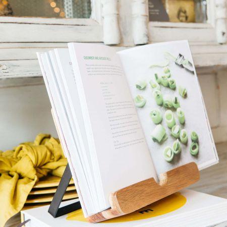 Acacia Wood Cookbook Stand