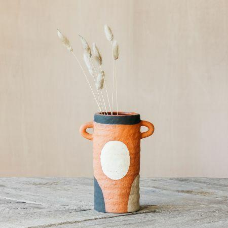 Paolo Terracotta Vase