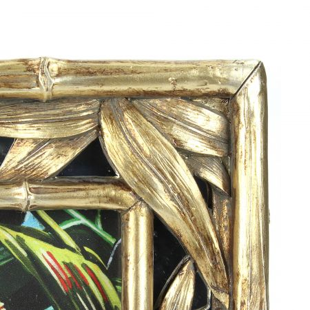 Gold Leaves Photo Frame