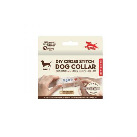 Small Cross Stitch Dog Collar Kit