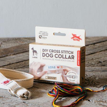 Large Cross Stitch Dog Collar Kit