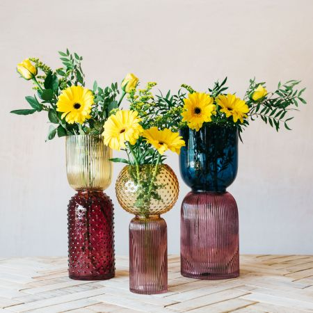 Retro Glass Vases