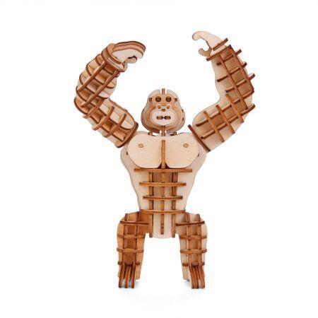 Gorilla 3D Wooden Puzzle