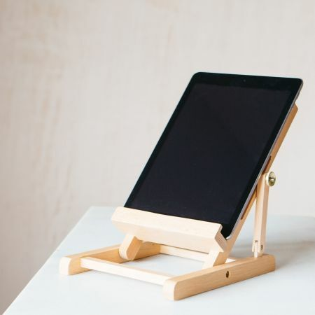 Easel Book and Tablet Stand