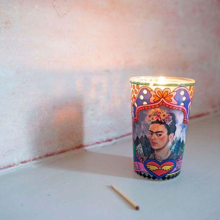 Frida Kahlo Candle