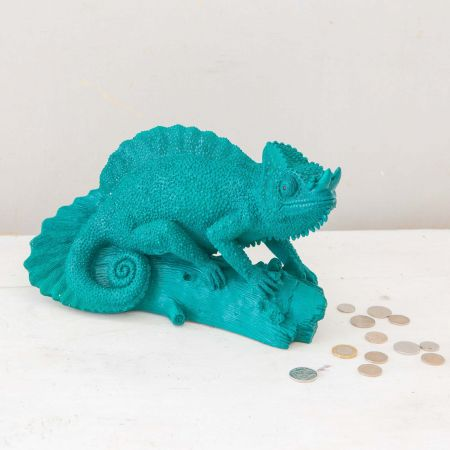 Carlos Chameleon Money Box