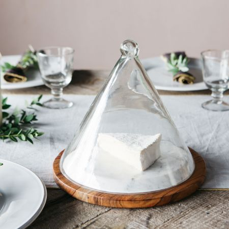 Glass Cheese Dome