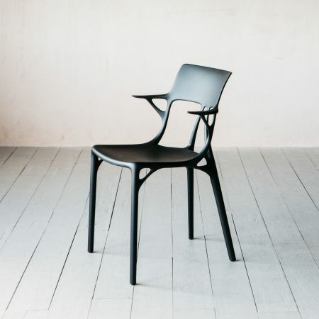 Kartell Black A.I Chair