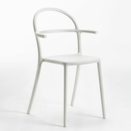 Kartell Generic C White Chair
